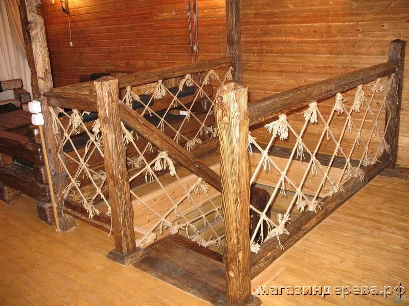 Как сделать перила из дерева для лестницы своими руками